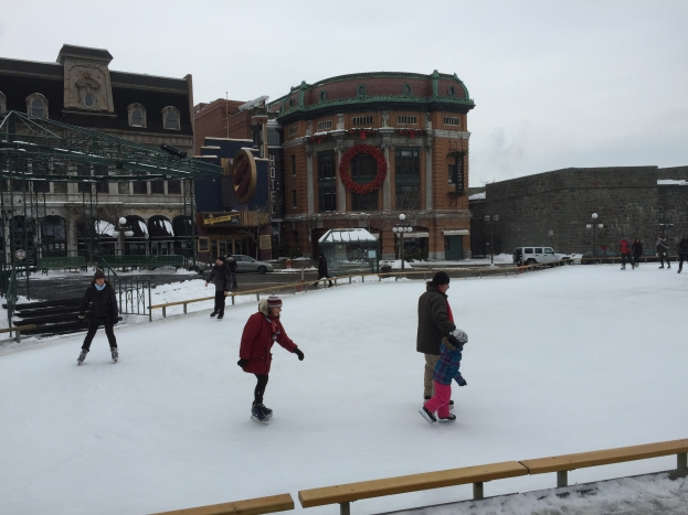 Bring your ice skates to Canada! - Day 1