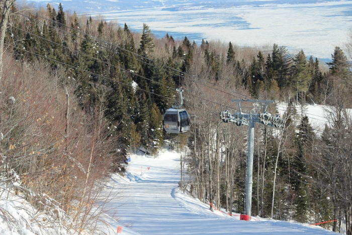 The Gondola at Le Massif - Day 4