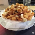 A trip to Quebec must include Poutine for lunch - Day 3