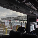 At the US - Canada Border Crossing - Day 6